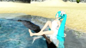 [MMD] Animasa Miku White Eve Download by swordsman9
