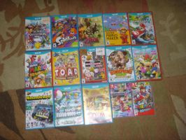 My Wii U/Switch Game Collection! by KingBilly97