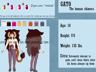 Gato - Reference Sheet by The-One-Eyed-Ghoul