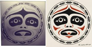 Coast Salish Moon - Redrawn by Ommin202