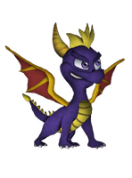 Spyro the Dragon (CB Characters 50/80) by DENDEROTTO