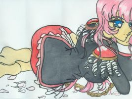 Utena cute pose by neptunestears