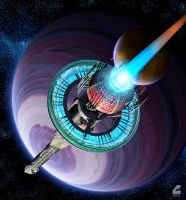Braking at Tau Ceti by RobCaswell