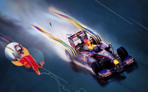 Red Bull F1 by adomas by loadinHQ