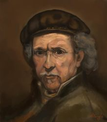 Rembrandt hommage by Pentangelo86