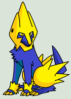 Bolt The Manectric by nerotoxin06