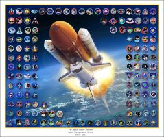 The Space Shuttle Missions by markkarvon