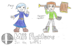 New Mii Fighters Join the Battle! by ShyGamer108