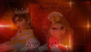 The King and Queen of 2012 by x12Rapunzelx