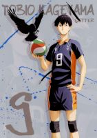 Haikyuu Tobio Kageyama Artwork by corphish2