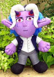 Yoru Plushie by amuletts