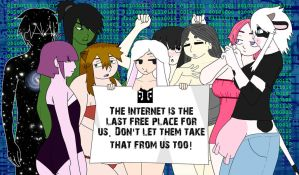 Net Neutrality by Space-between-spaces