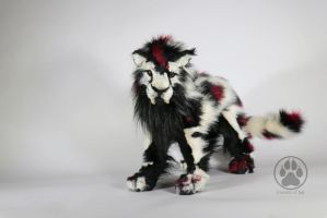 SOLD Sabre-tooth Commission poseable artdoll OOAK! by CreaturesofNat