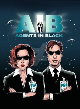 Agents In Black by donovanalex