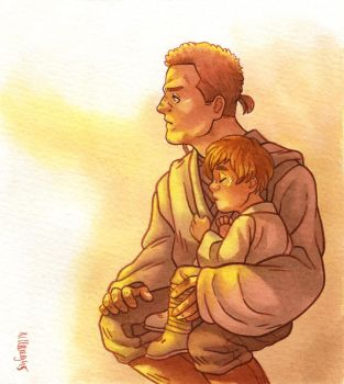 The Past [Obi-Wan and Anakin] by ProfDrLachfinger