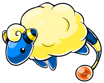#179 Mareep by little-ampharos