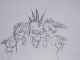 skulls by tHe-sPOrK-Of-dEaTH