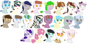 MLP Adopts by liz72098