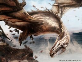 White Dragon by DavidAlvarezArt