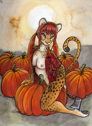 Meet Me In The Pumpkin Patch by shiverz