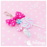 Candy mix Bag charm by CuteMoonbunny