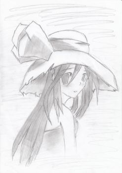 Girl with a Hat by FreyrK