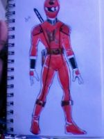 Kakuranger ReDesign Full Body by DynamicSavior