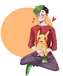 Jack and Pikachu by AnnKrriss