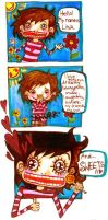 Hello, my name is Lina... by Lapaka