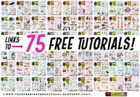 Links to my first 75 TUTORIALS! by STUDIOBLINKTWICE