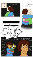 If I was Frisk... by Channydraws