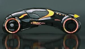 Light cycle concept draft by helioart