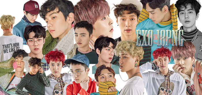 EXO PNG Pack {Lucky One} by kamjong-kai