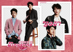 Render Pack | 4 HQ | GOT7 | Jinyoung by SJIsParadise