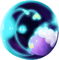 Drifloon in a Sphere by SunoWolf