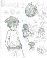 Double D in my style of anime by Sasukebgirl2594