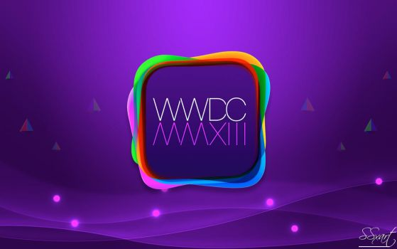 WWDC 2013 Apple event Wallpape MacBook Air 13 inch by SSxArt