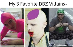 3 ALL TIME GREATEST DBZ VILLAINS by WhiteFang92