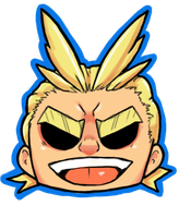 All Might! by Yuki-Draws-the-Thing