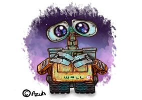 Sketchalistic Lonely Wall-e. by azuh
