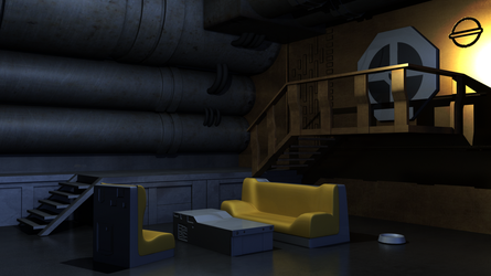 Bebop Living Room 3D environment by tracygraves
