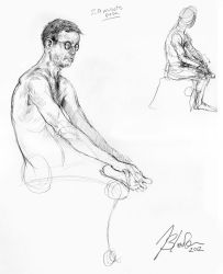 Life Drawing 5.6.212 #3 by Stormcrow135