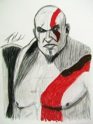 Kratos by tonycreatah