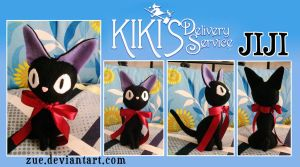 [Plush] Jiji by Zue