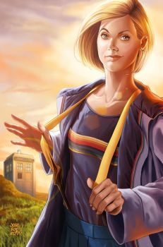 13TH DOCTOR by JOSERODRIGUEZMOTA