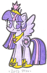 Princesa Twilight Sparkle by PorFavorSuVida