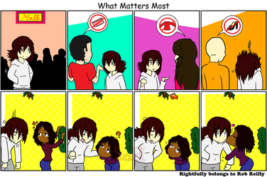 What Matters Most Christmas Comic 2011 by Son23