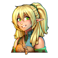 Collab - Elven Archer by MLeth