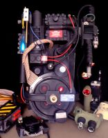 Ghostbusters Proton Pack #2  Scratch Built by ritter99