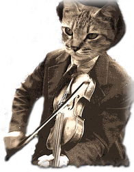 cat and the fiddle by grams346
